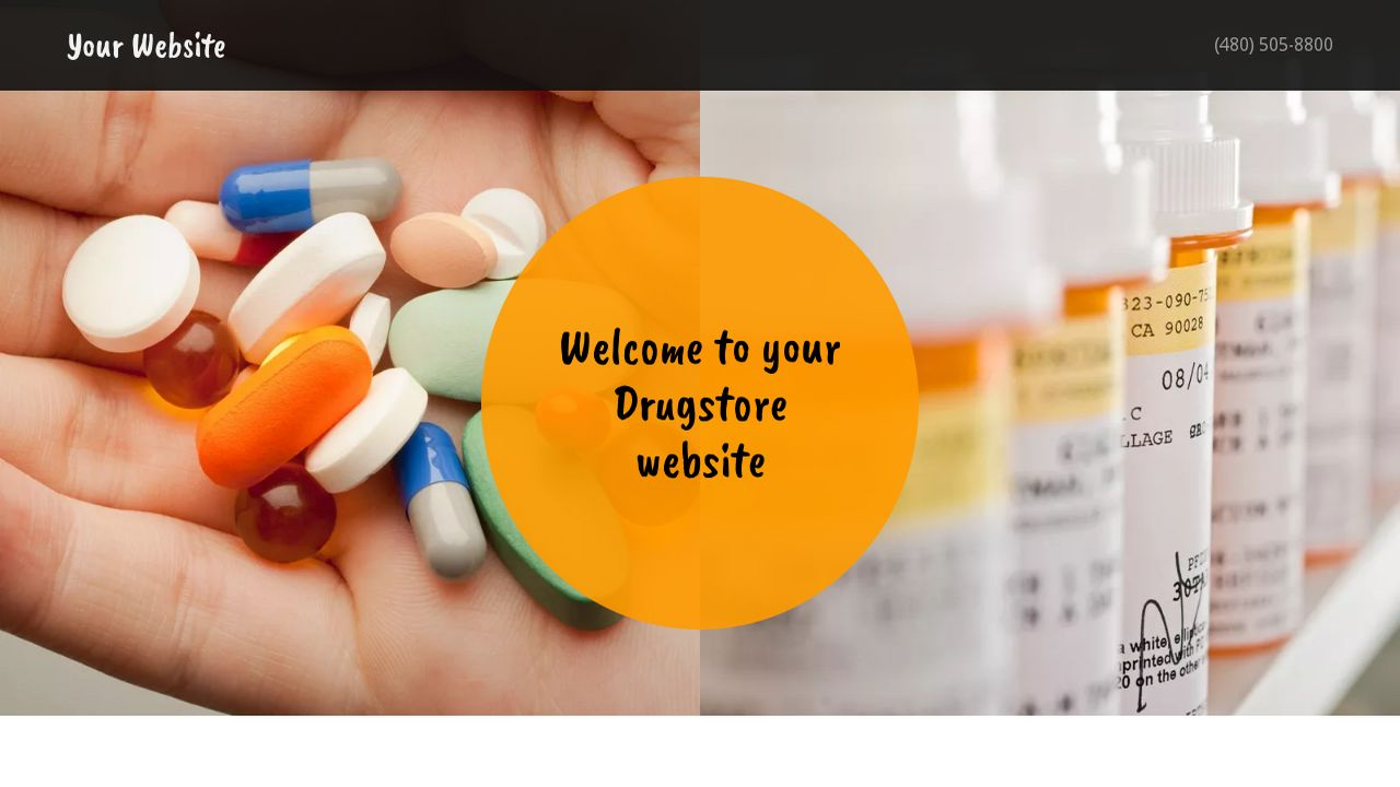 Drugstore Website: Example 18