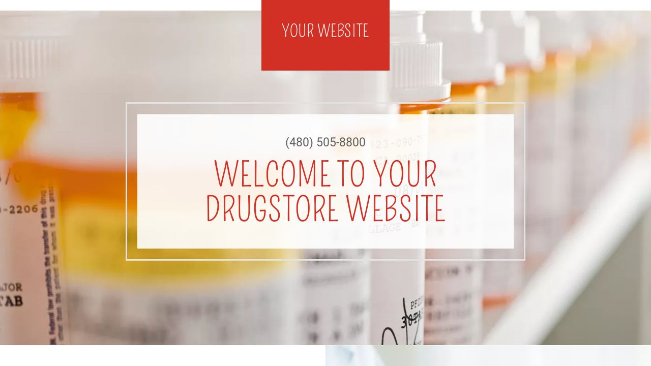 Drugstore Website: Example 6