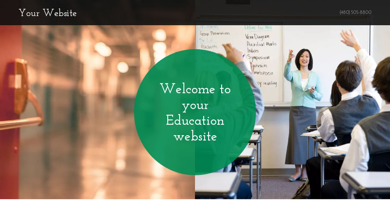 Education Website: Example 15