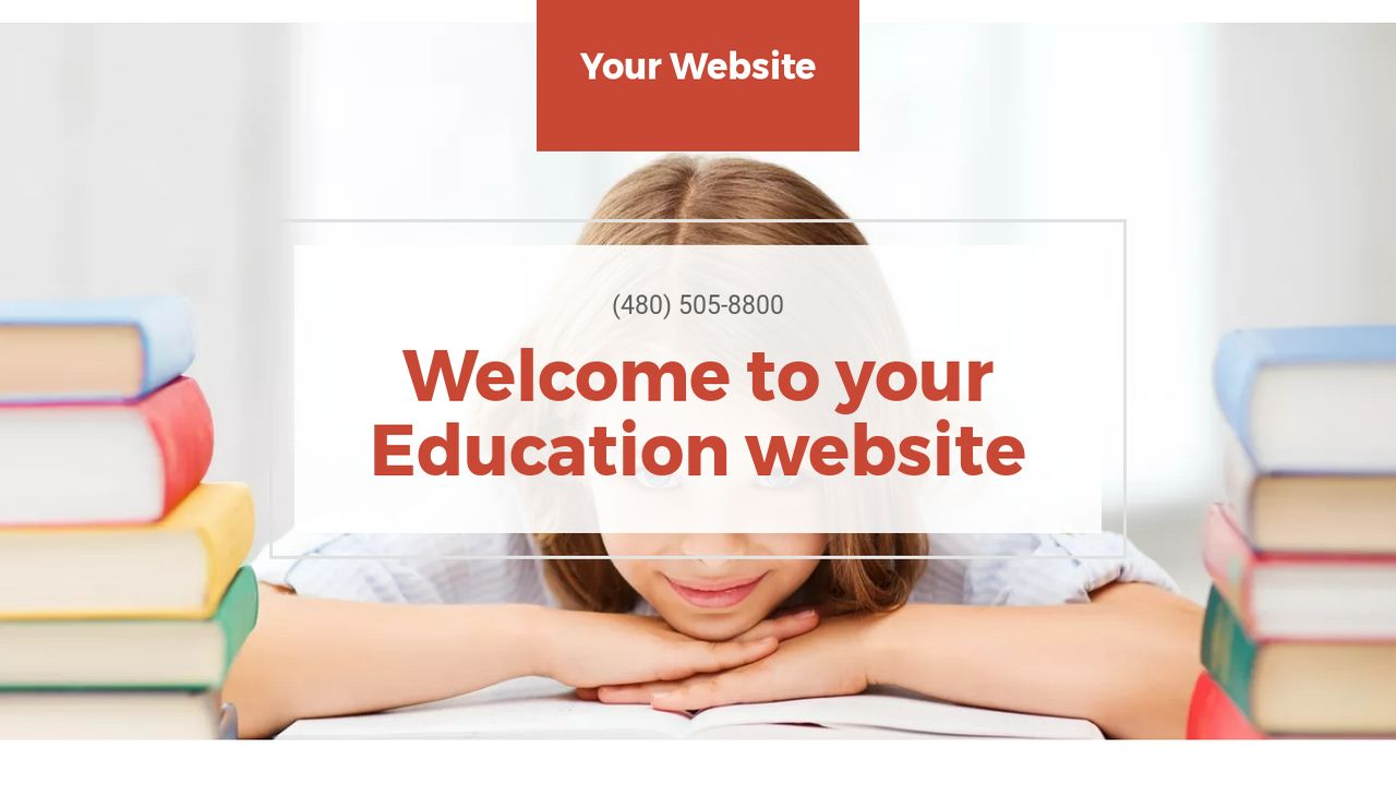 Education Website: Example 18