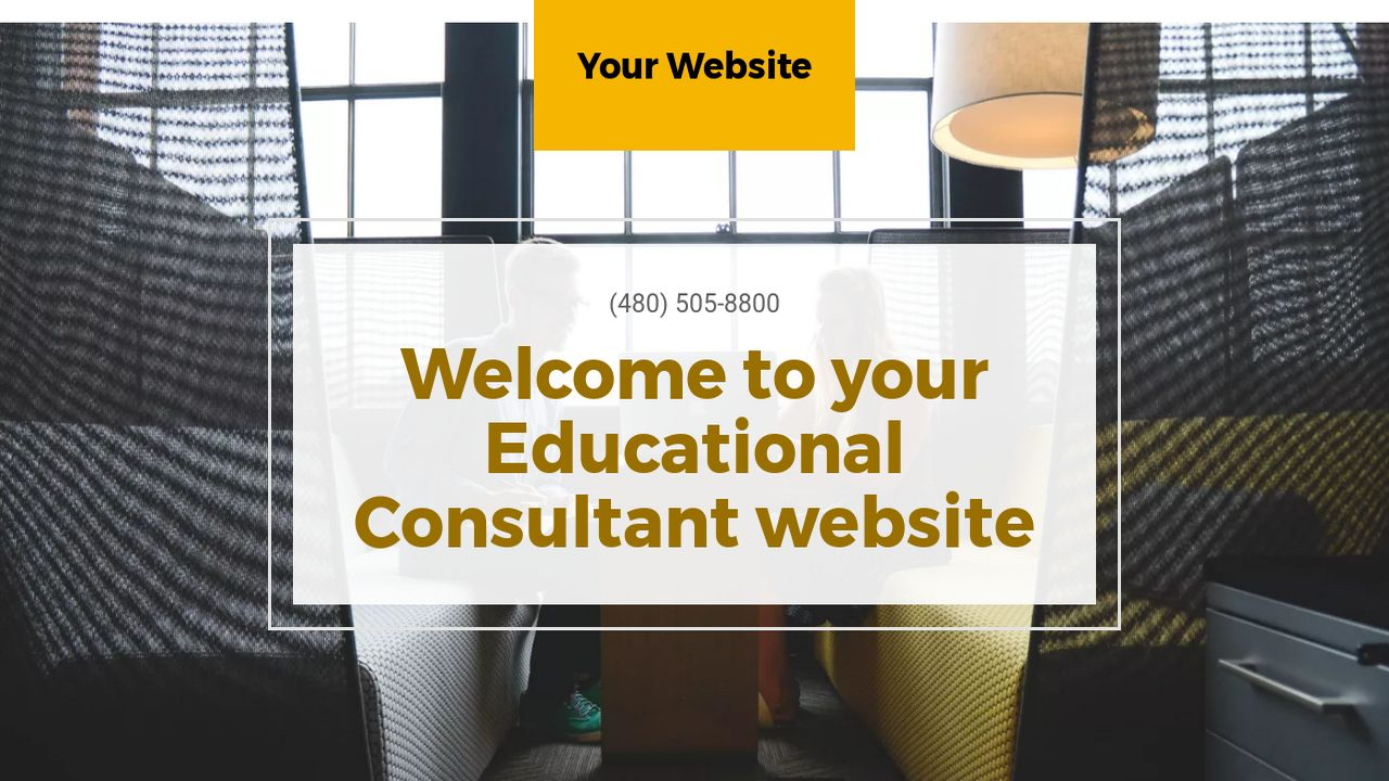 Educational Consultant Website: Example 11