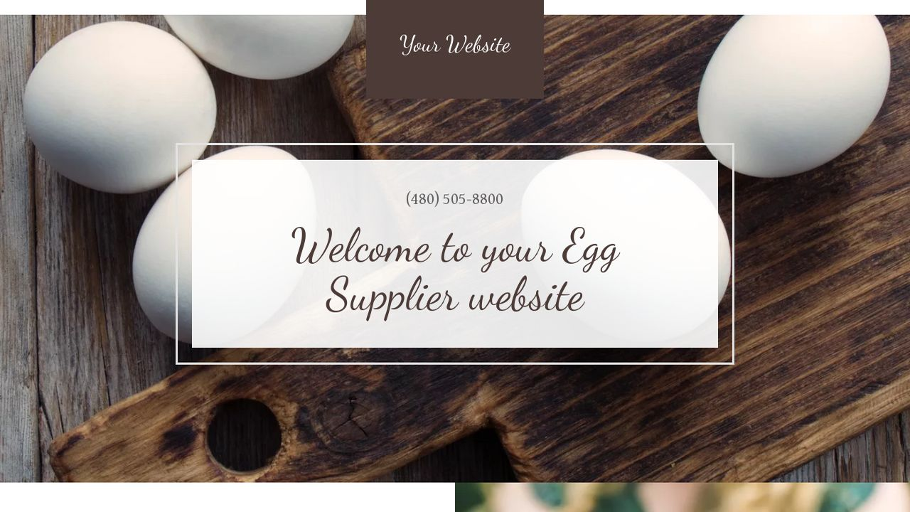 Egg supplier website templates godaddy egg supplier example 6 pronofoot35fo Gallery