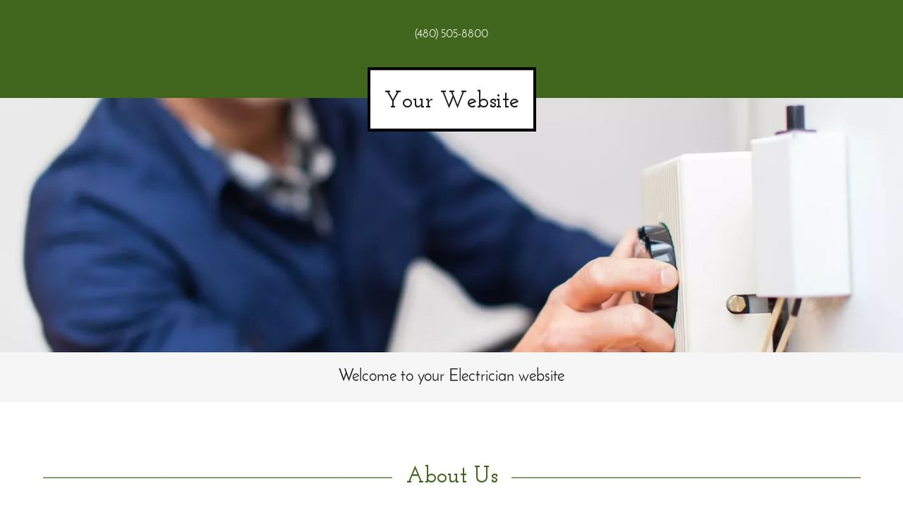 example 13 electrician website template godaddy. Black Bedroom Furniture Sets. Home Design Ideas