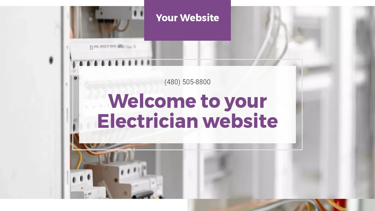 Electrician Website Templates | GoDaddy