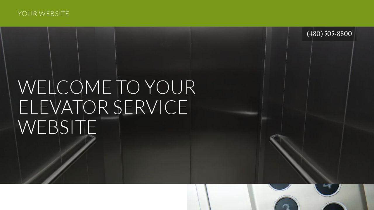 Elevator Repair Service : Elevator service website templates godaddy
