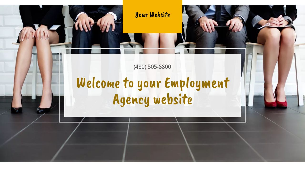 Employment Agency Website: Example 10