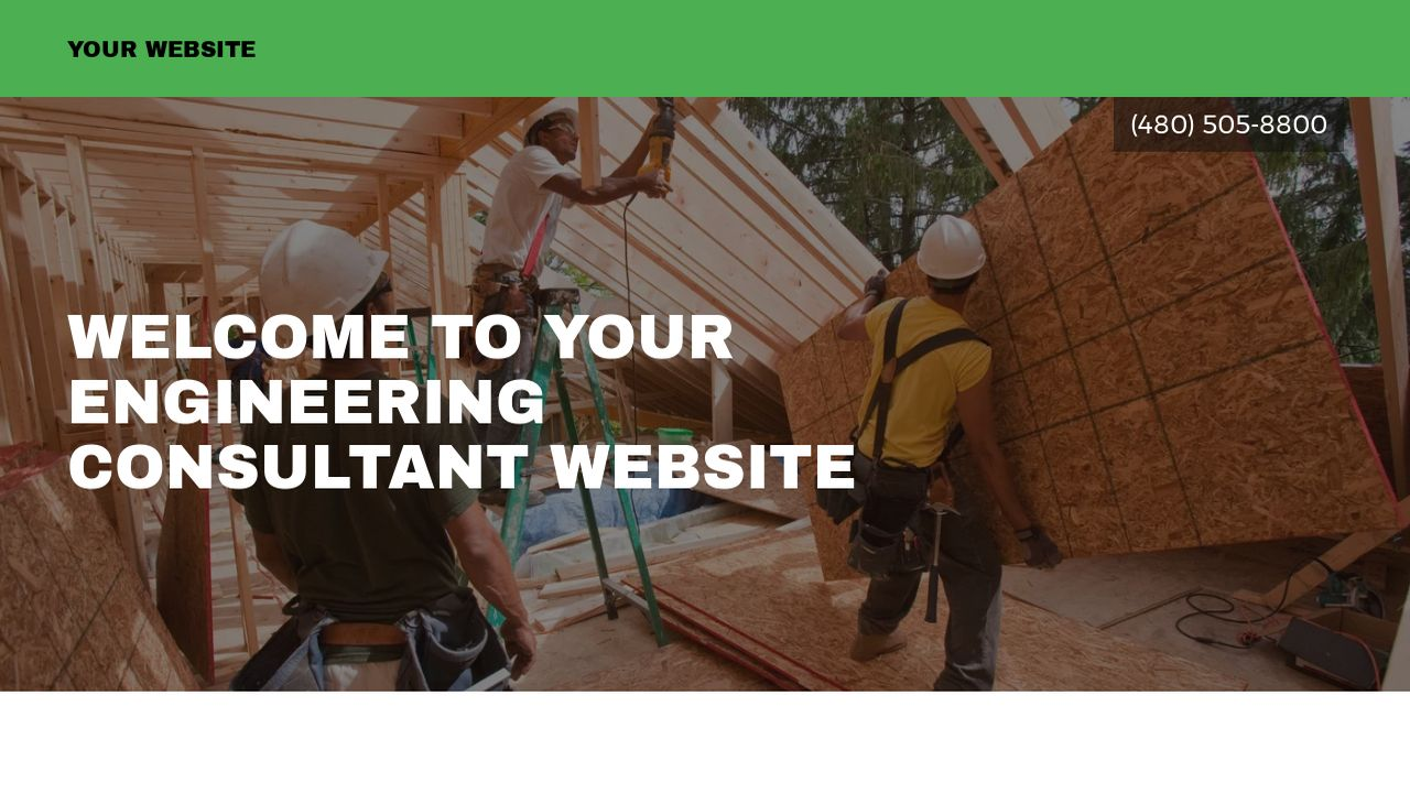 engineering consultant website templates godaddy
