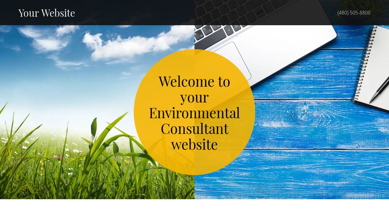 Environmental Consultant Website: Example 10