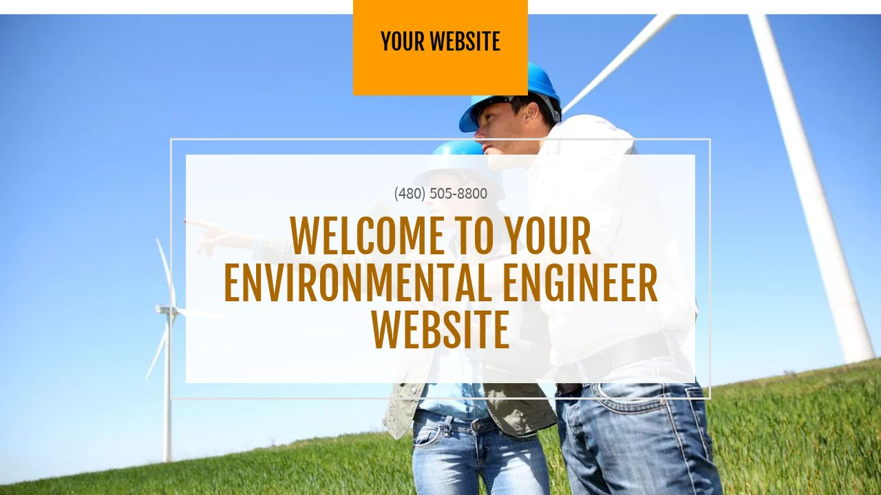Environmental Engineer Website: Example 11