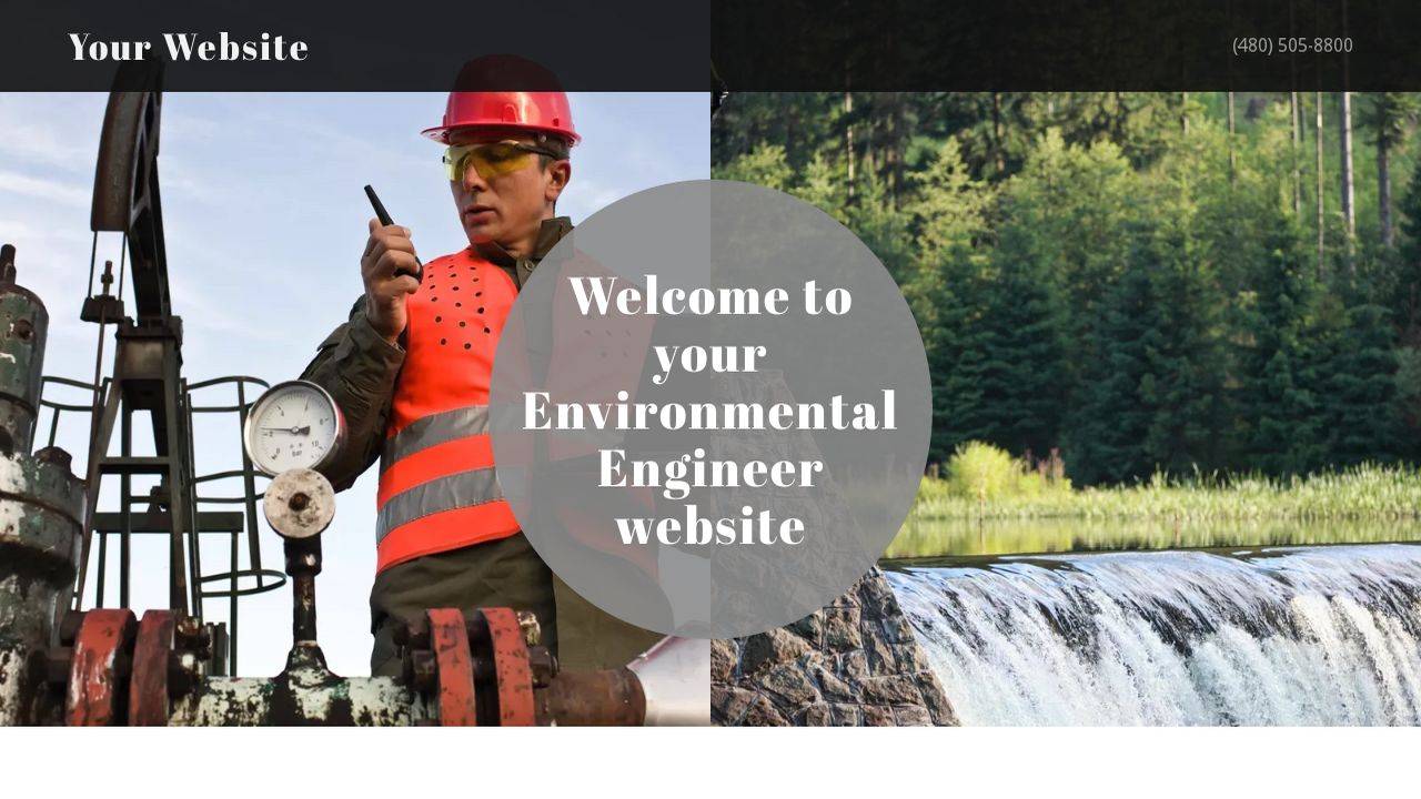 Environmental Engineer Website: Example 5