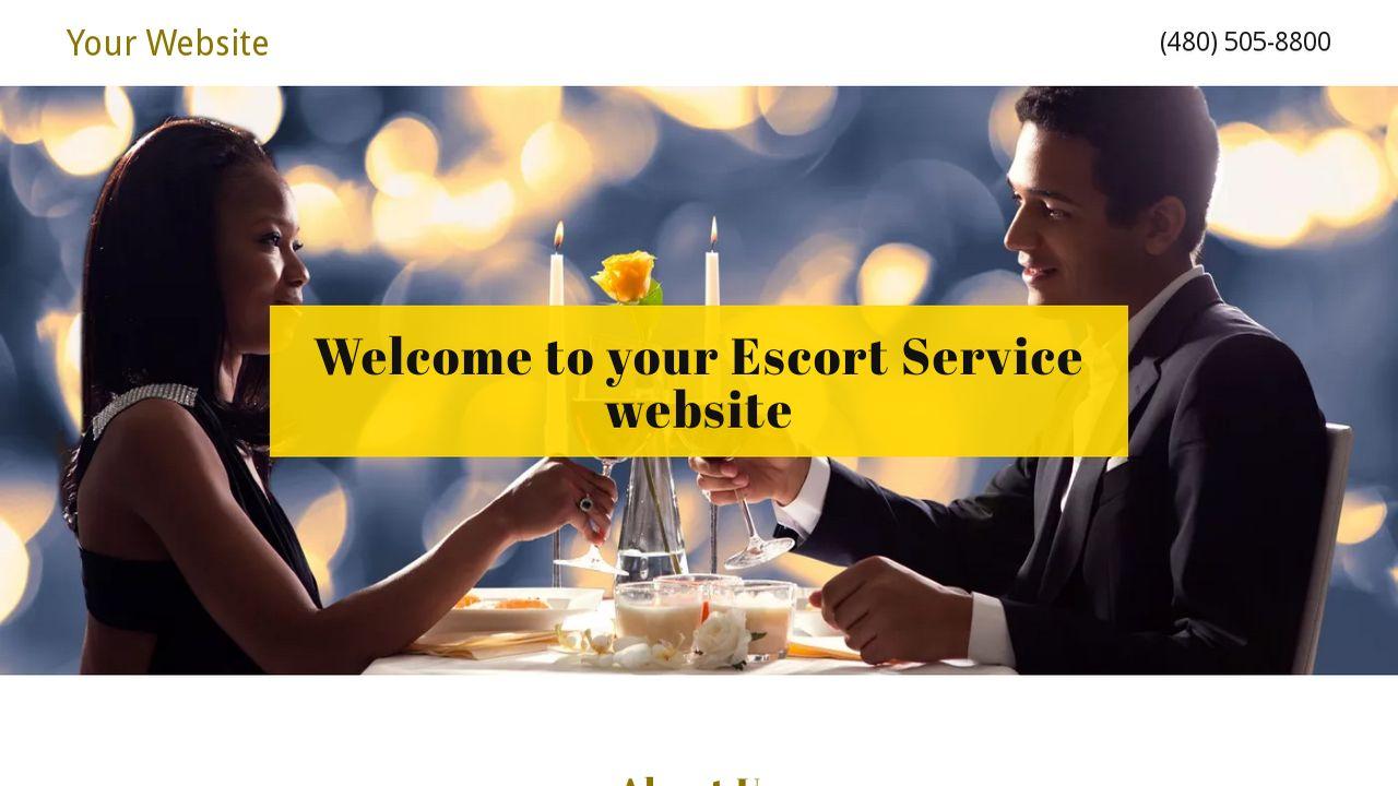 example 14 escort service website template