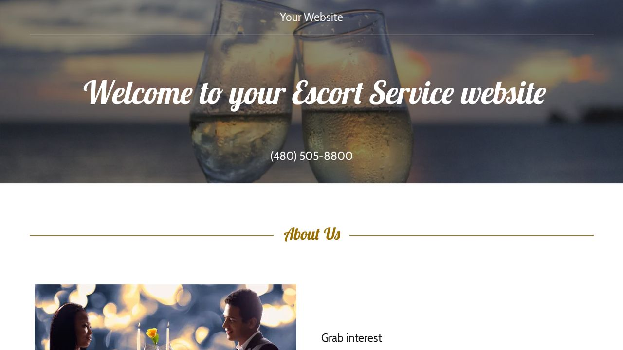 escort service website