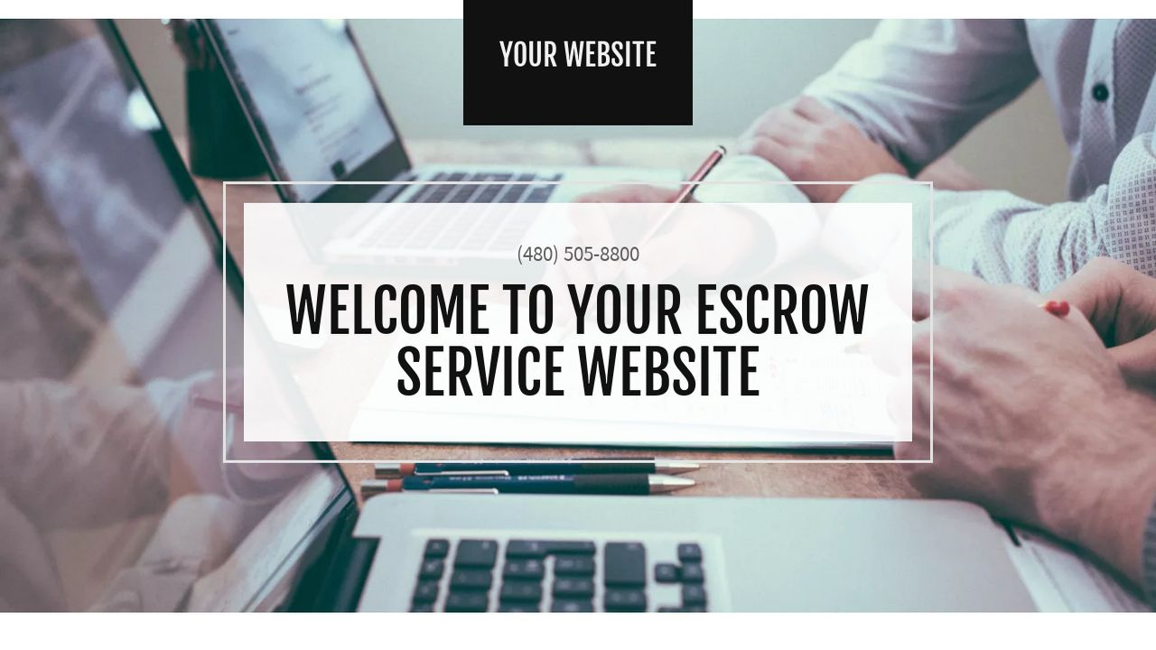 Escrow Service Website: Example 13