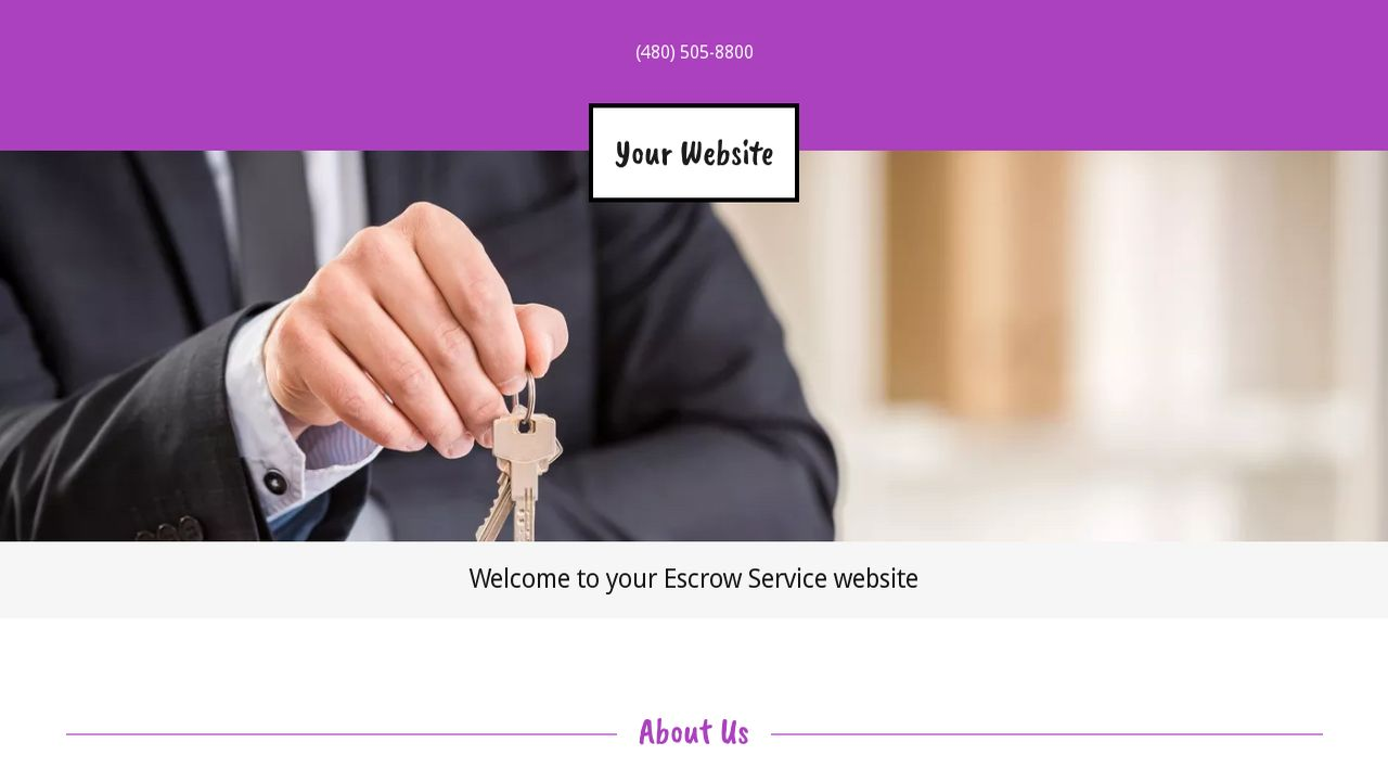 Escrow Service Website: Example 18