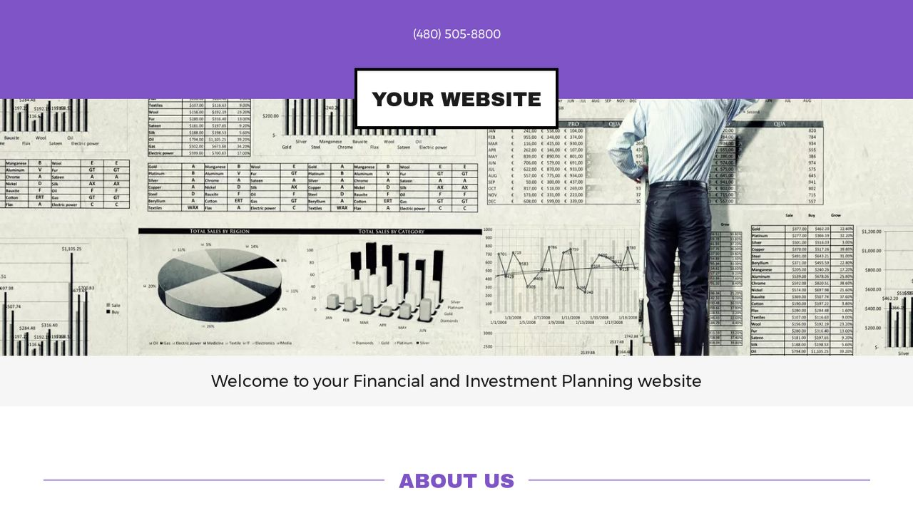Financial and Investment Planning Website: Example 14