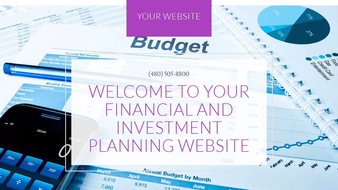 Financial and Investment Planning Website: Example 16
