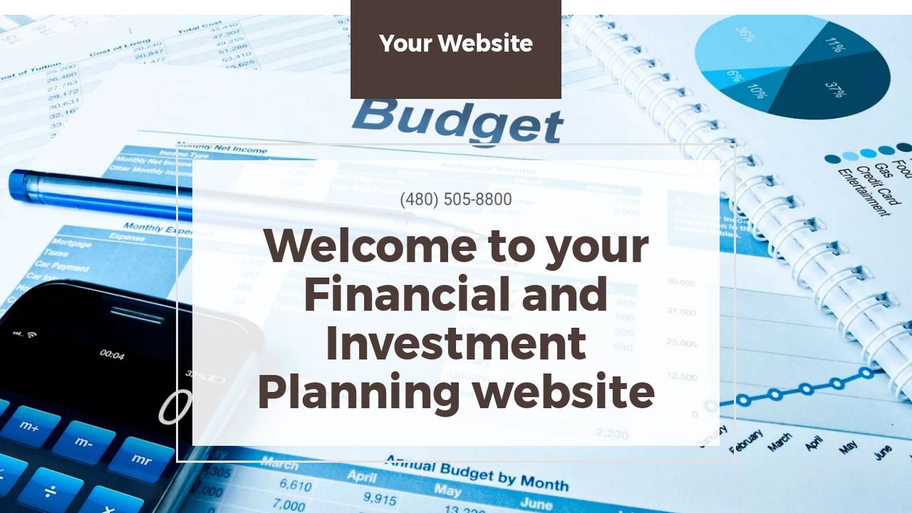 Financial and Investment Planning Website: Example 2