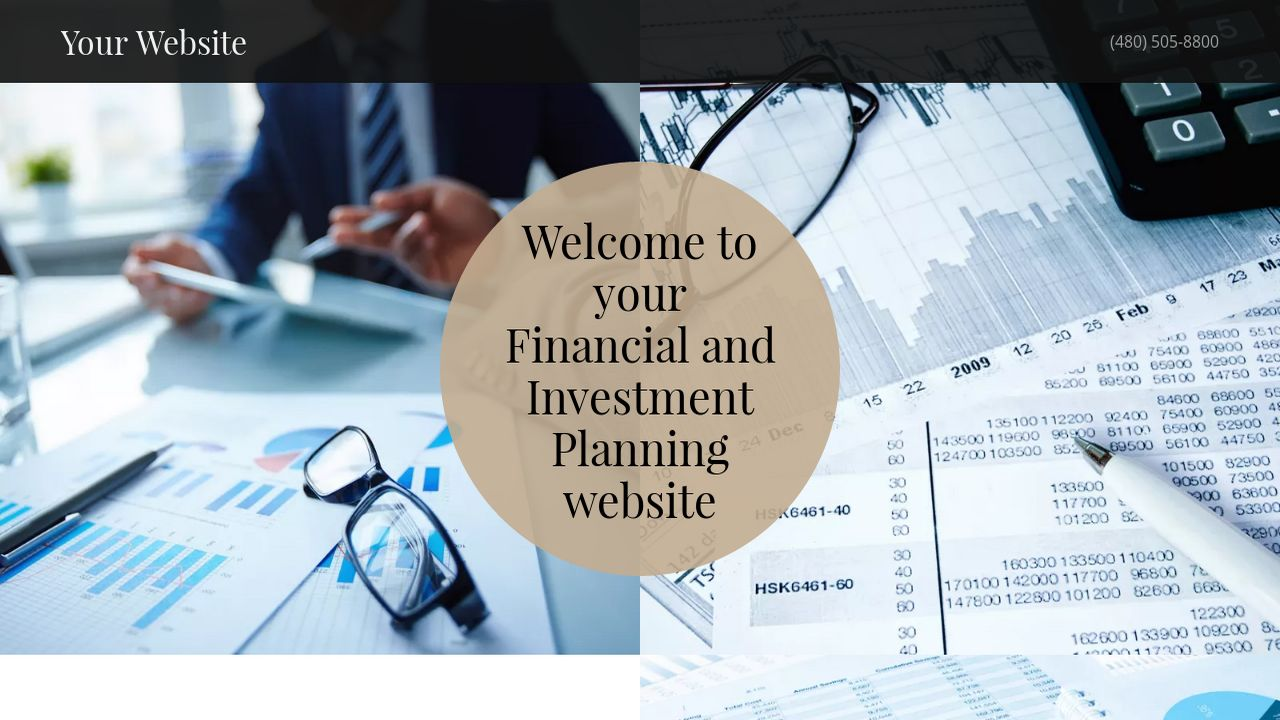 Financial and Investment Planning Website: Example 5