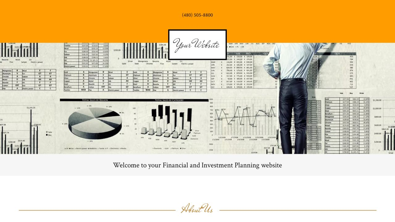 Financial and Investment Planning Website: Example 7