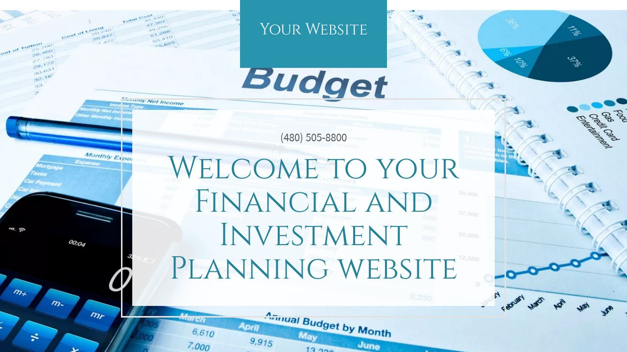 Financial and Investment Planning Website: Example 9