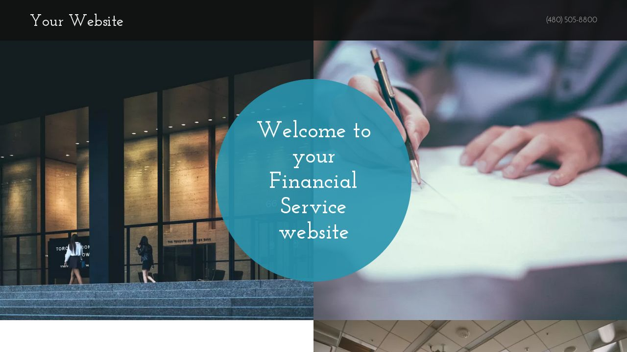 Financial Service Website: Example 15