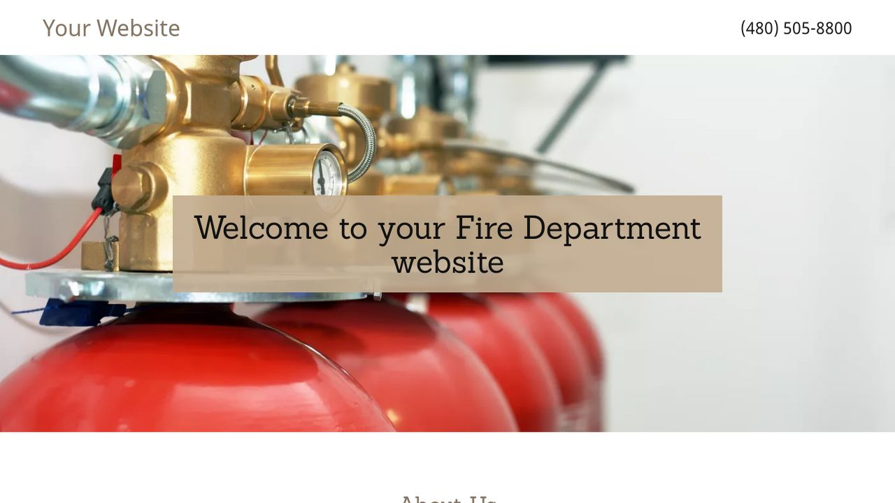 Fire Department Example 13