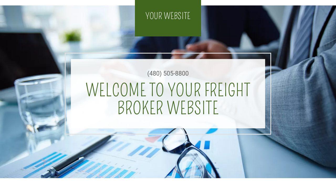 Freight Broker Website