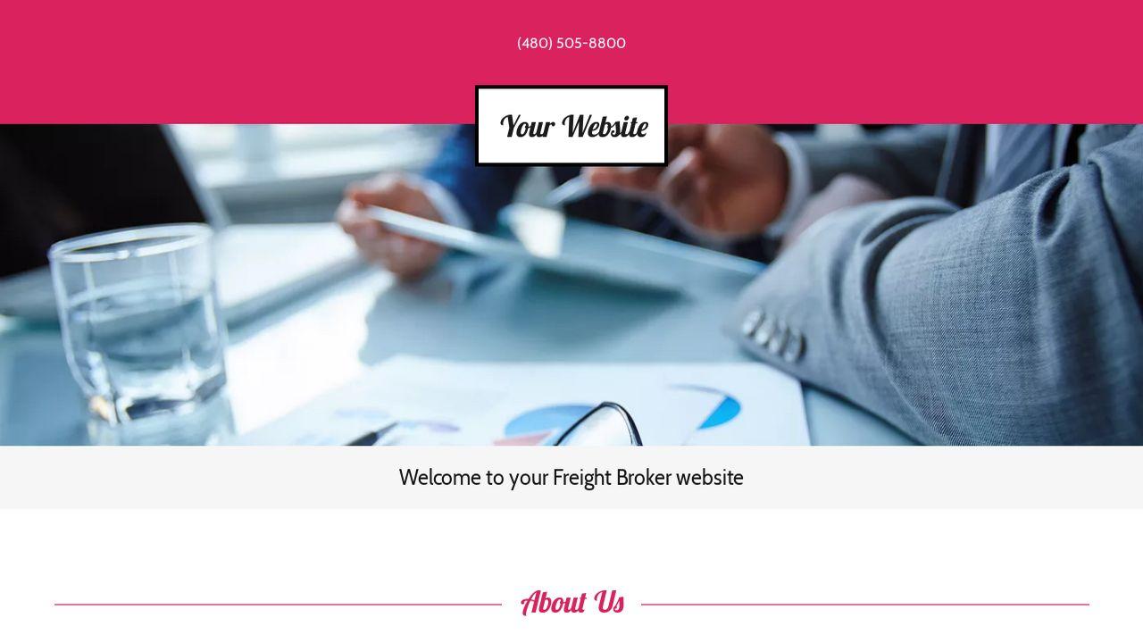 Professional Freight Broker Web Design Company