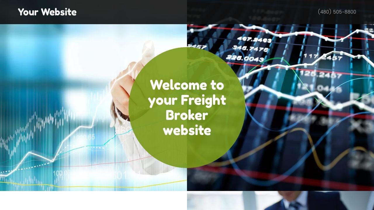 Freight Broker Website Templates | GoDaddy