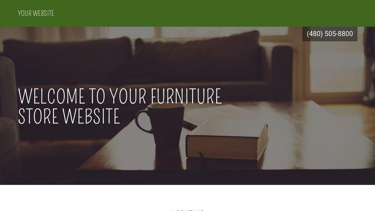 furniture store website templates godaddy. Black Bedroom Furniture Sets. Home Design Ideas