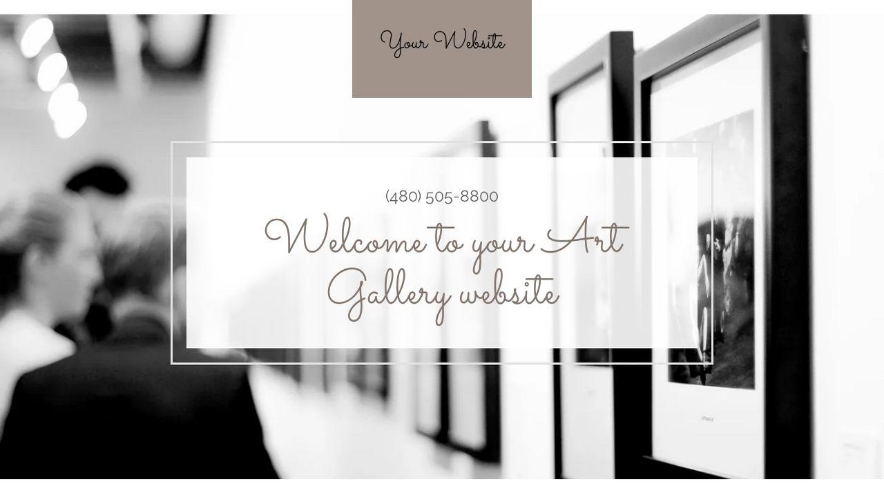 Art Gallery Website Templates GoDaddy - Art gallery website templates