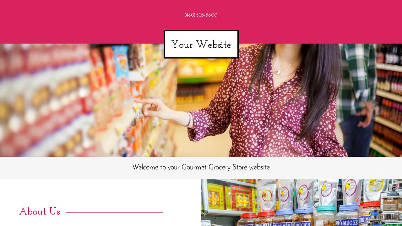 Gourmet Grocery Store Example 12  Grocery Templates