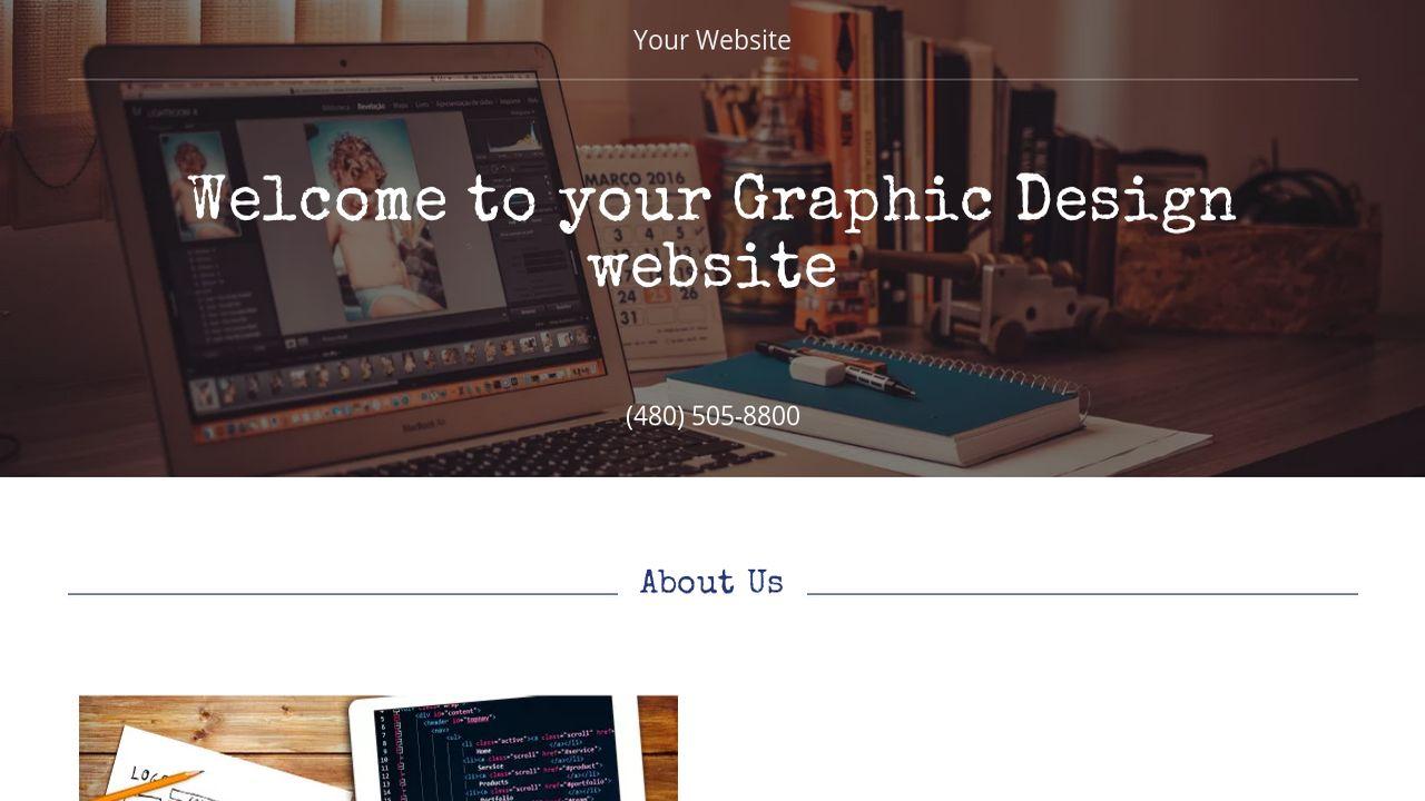 Graphic Design Website Templates GoDaddy - Graphic design website templates