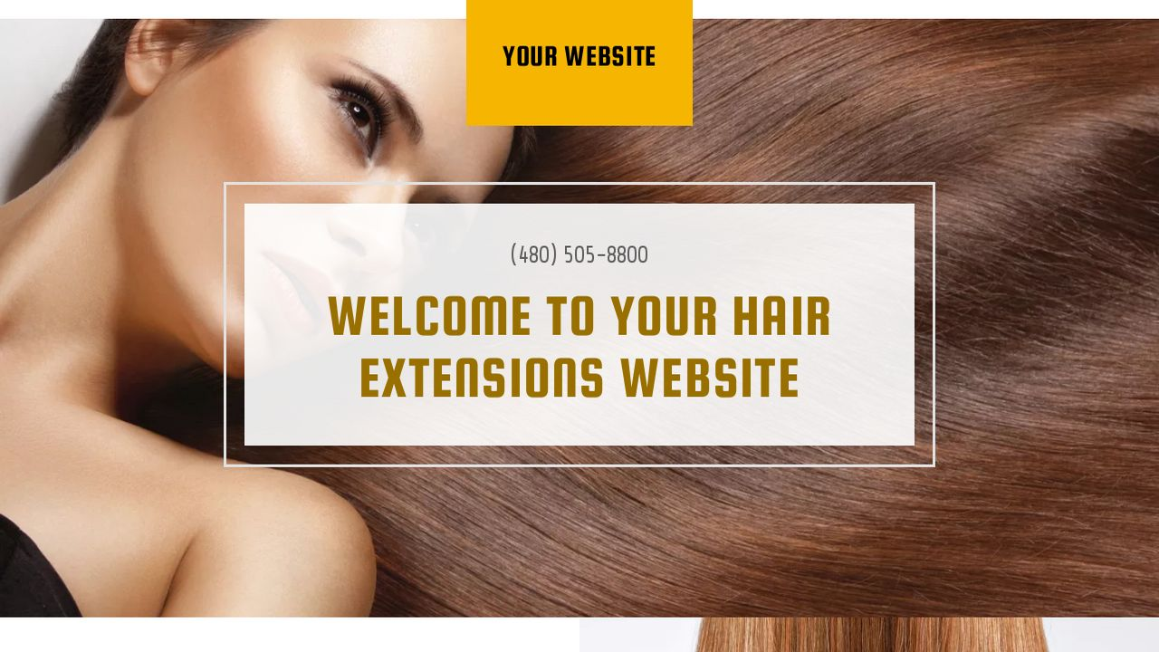 Hair Extensions Website Templates Godaddy