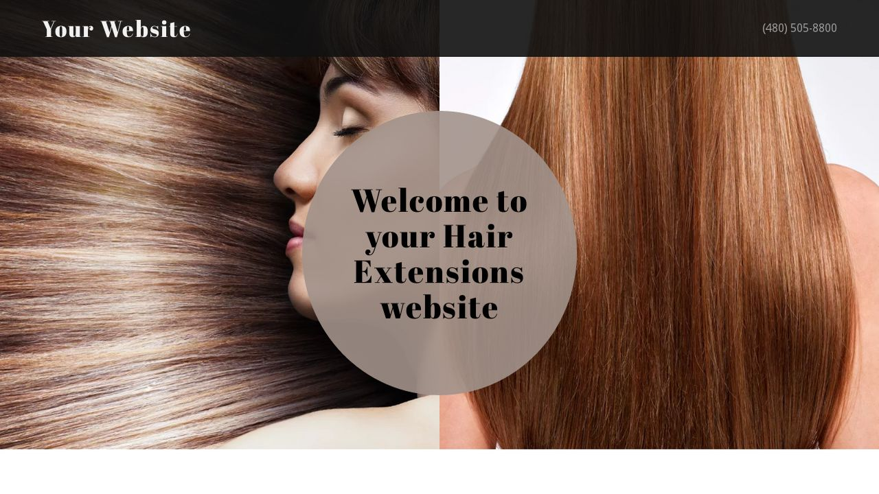 Hair extensions website templates godaddy hair extensions example 15 pmusecretfo Choice Image