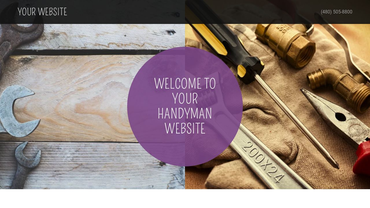 Handyman Website: Example 15