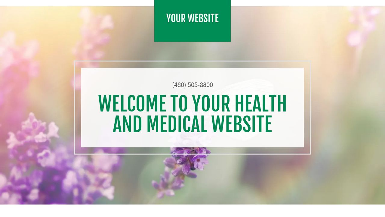 Health and Medical Website: Example 11