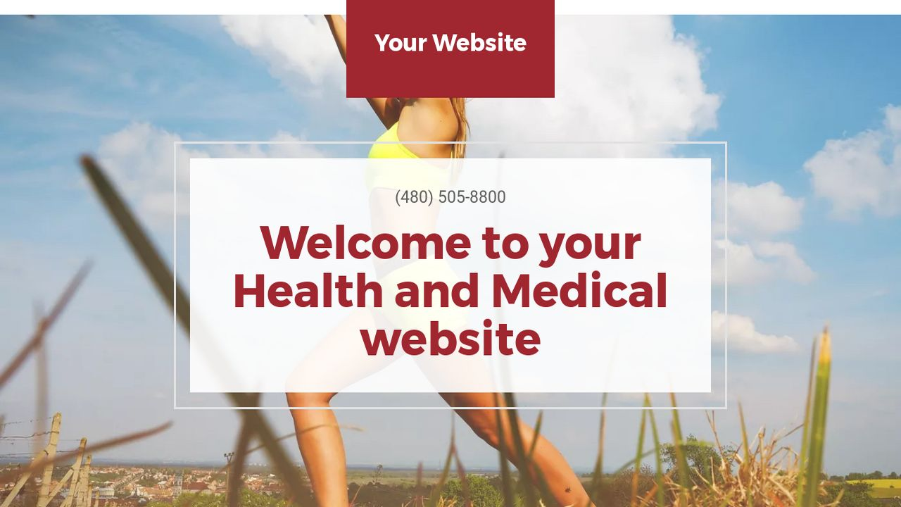 Health and Medical Website: Example 18