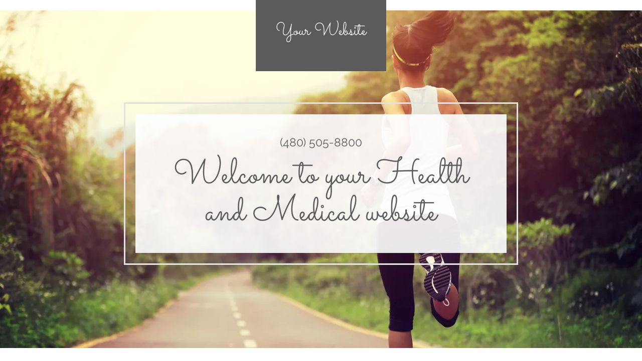 Health and Medical Website: Example 4