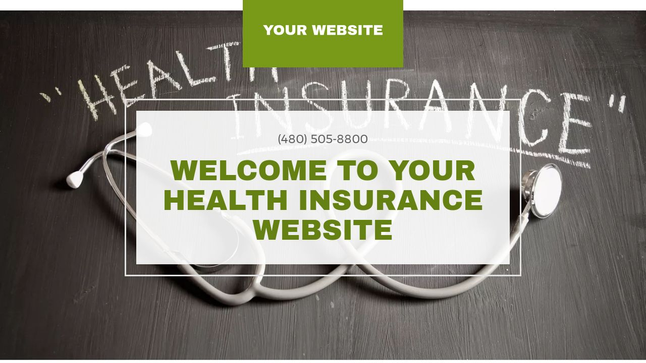 Health Insurance Website: Example 11