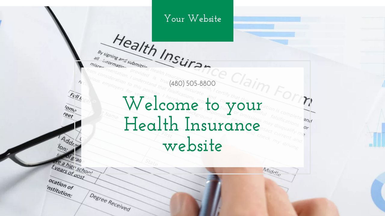 Health Insurance Website: Example 18