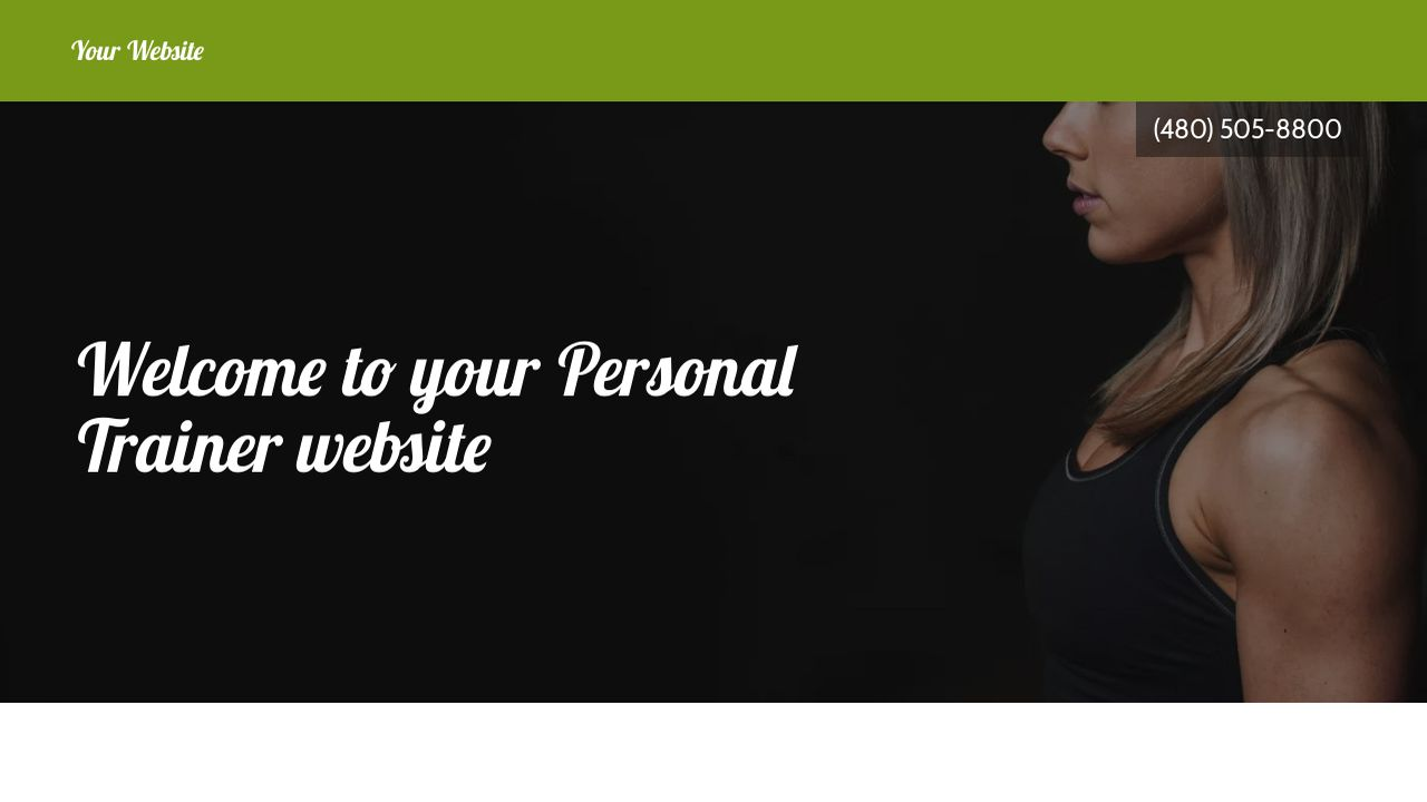 Personal Trainer Website Templates | GoDaddy