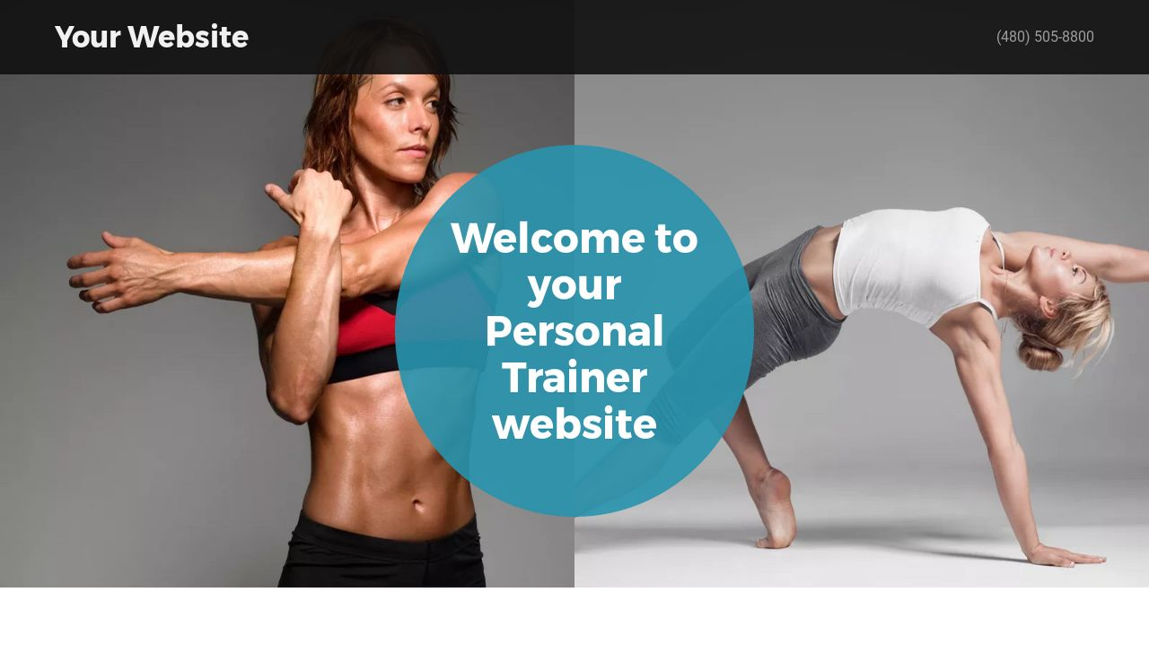 personal trainer website templates godaddy