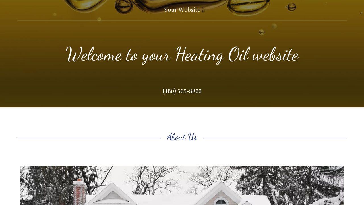 heating oil website templates godaddy. Black Bedroom Furniture Sets. Home Design Ideas