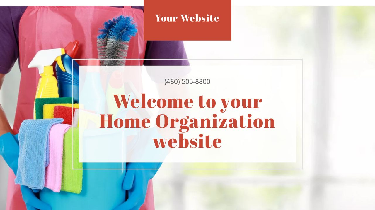 Home Organization Website: Example 10