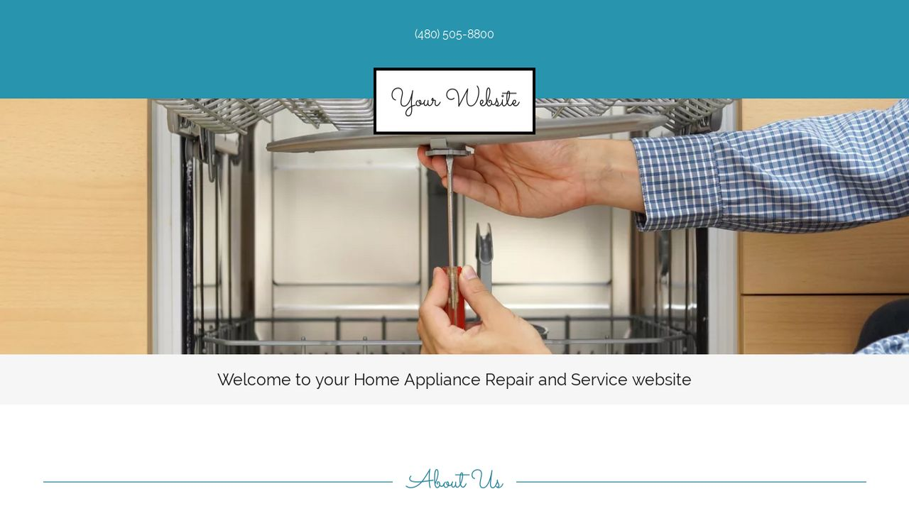 Home Appliance Repair and Service Website Templates | GoDaddy