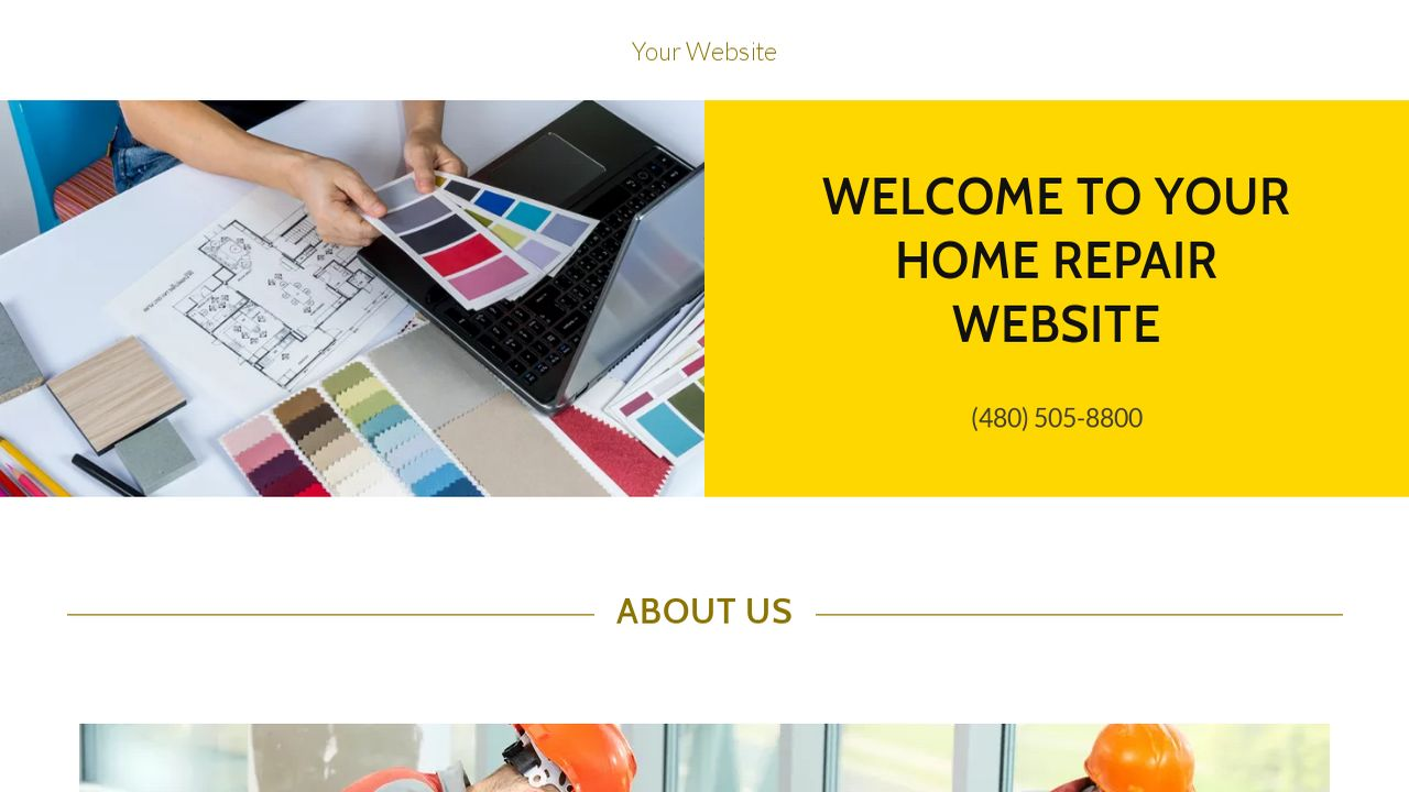 Home Repair Website Templates | GoDaddy