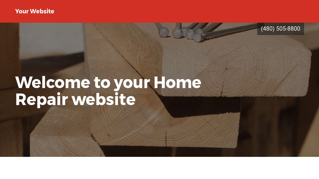 Home Repair Website Templates GoDaddy - Home remodeling website templates