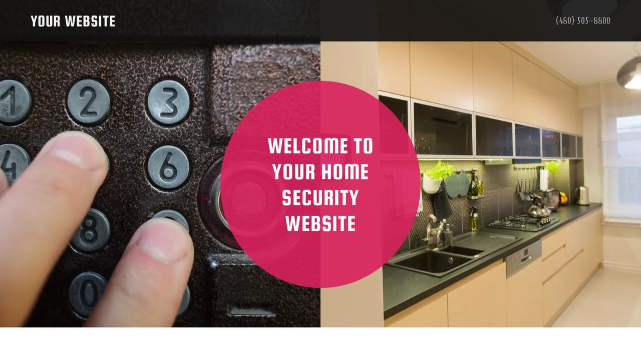 Home Security Website: Example 17