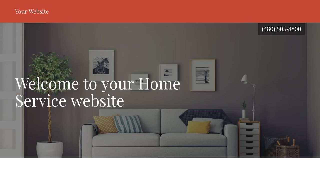 Home Service Website: Example 10
